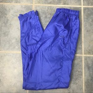 Vintage Nike 80's Track Pants Jogger Blue S